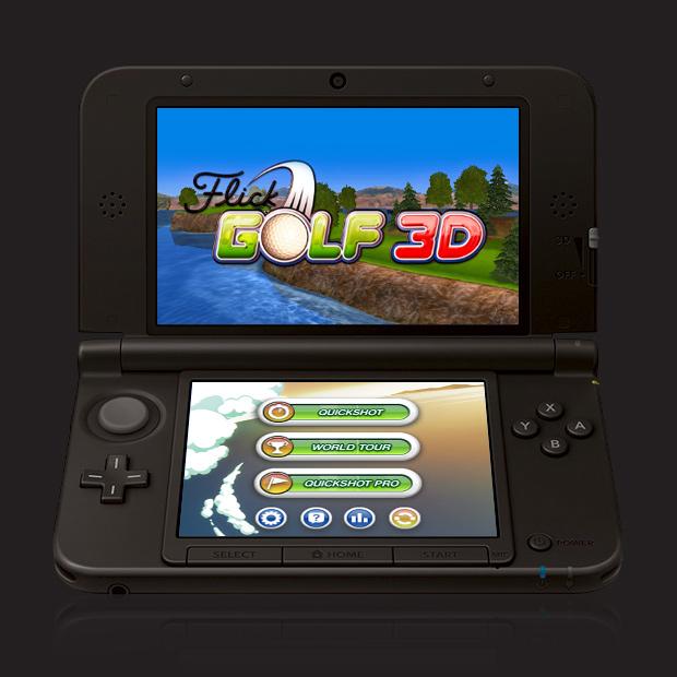 Flick Golf 3D