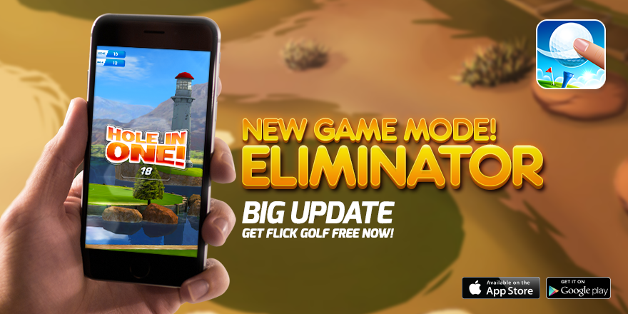 Flick Golf Free 'Eliminator' update out now on the App Store