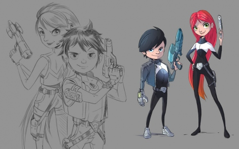 Agent Dash: New characters