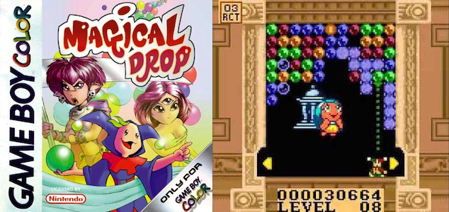 Magical Drop for the Nintendo Game Boy Color