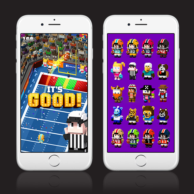 Blocky Football – Endless Arcade Runner