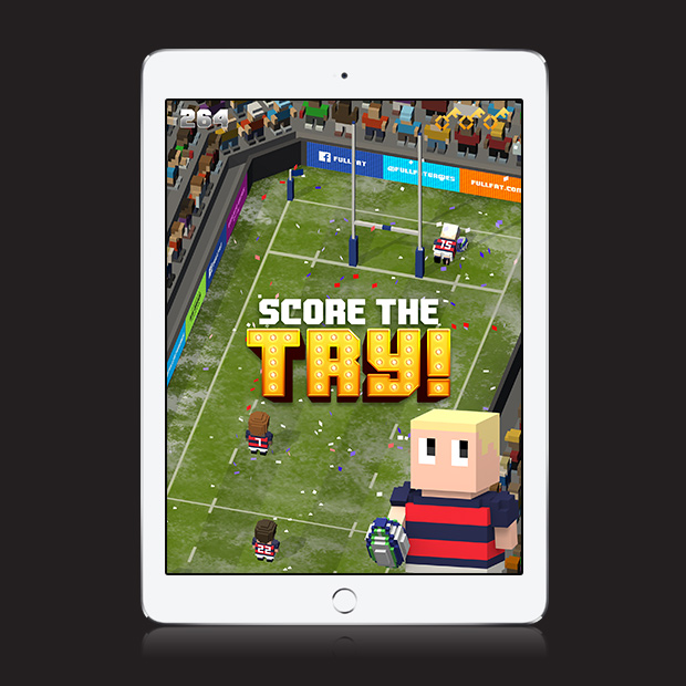 Blocky Rugby – Endless Arcade Runner